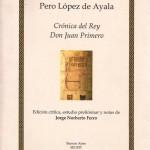 tapa Cronica del Rey Don Juan Primero