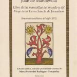 tapa Libro de las maravillas  Mandevilla siglo XVI 2011